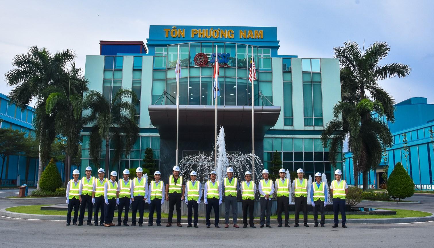 Cuộc họp giữa Ban TGĐ SSSC và Lãnh đạo Công ty TNHH Thép Vina Kyoei ngày 28 tháng 10 năm 2020