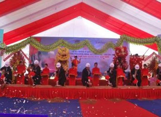 Khởi công Nhà máy Tôn Phương Nam 70 triệu USD tại Đồng Nai