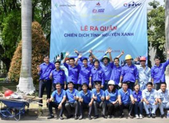"""Tuổi trẻ Tôn Phương Nam với chương trình """"Chiến dịch tình nguyện xanh"""""""