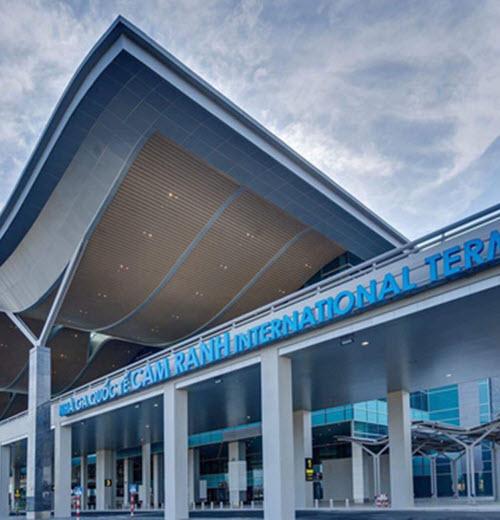 Ga hành khách - sân bay quốc tế Cam Ranh