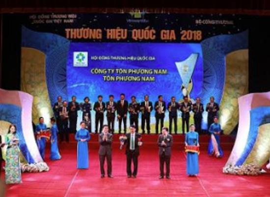 Tôn Phương Nam lần đầu tiên đạt Thương hiệu quốc gia
