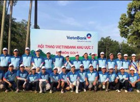 Đại diện Công ty Tôn Phương Nam tham dự giải Golf lần 4 - 2018 do Ngân hàng Vietinbank Nhơn Trạch tổ chức