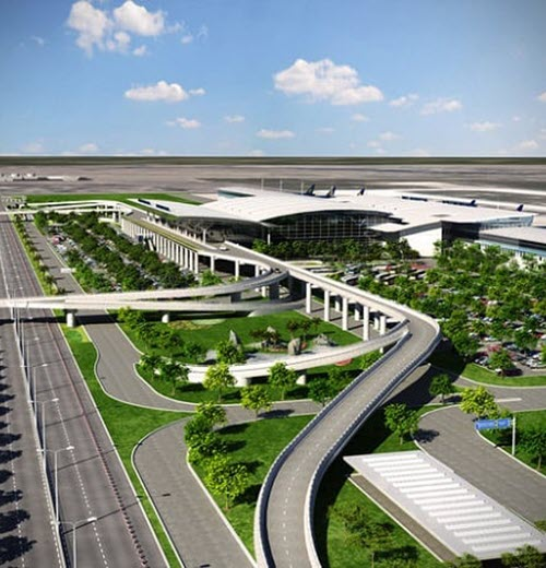 Nhà ga T2 - sân bay Nội Bài